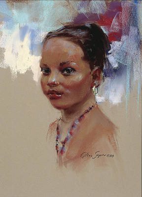 Painting - Angelie by Chris  Saper