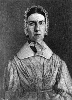 Abolition Photograph - Angelina Grimk�, American Abolitionist by Photo Researchers