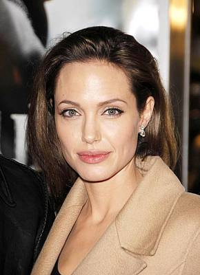 Angelina Jolie At Arrivals For Los Art Print by Everett