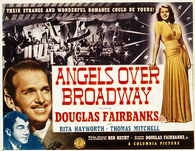 Fod Photograph - Angels Over Broadway, Thomas Mitchell by Everett