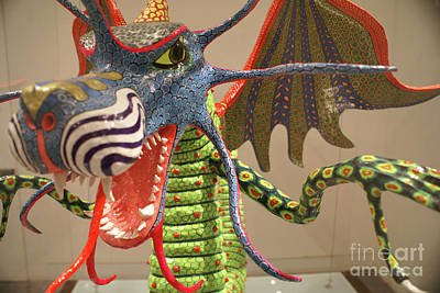 Photograph - Angry Alebrije Dragon Mexico by John  Mitchell