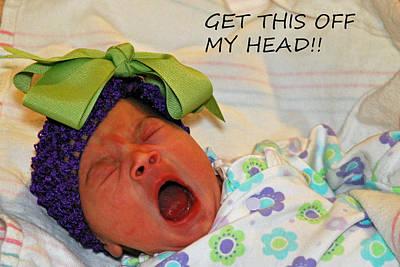 Photograph - Angry Baby by Teresa Blanton