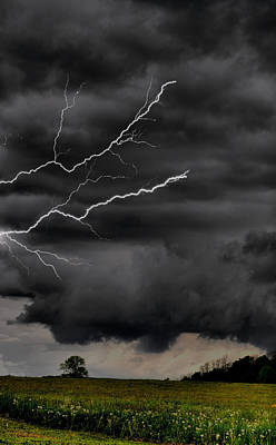Photograph - Angry Skies by Emily Stauring
