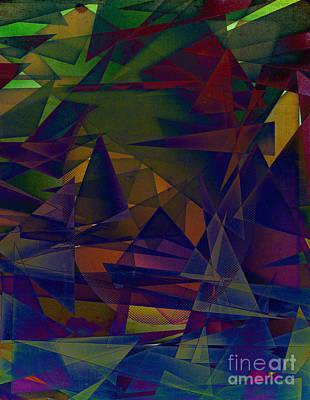 Digital Art - Angst by Michelle Bergersen