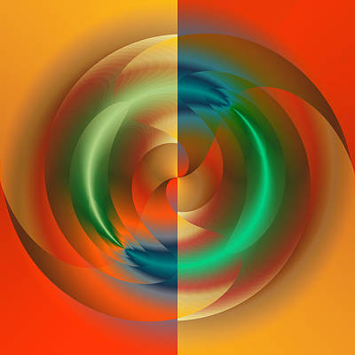 Digital Art - Angular Momentum by Mark Greenberg