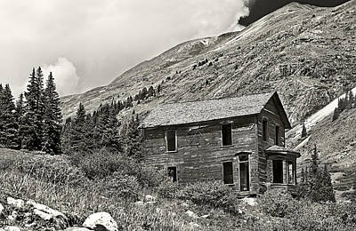 Photograph - Animas Forks In Blackandwhite by Melany Sarafis