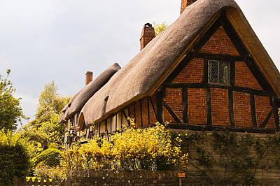 Stratford Photograph - Ann Hathaway Home by Jon Berghoff