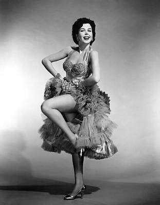 P-g Photograph - Ann Miller, 1955 by Everett