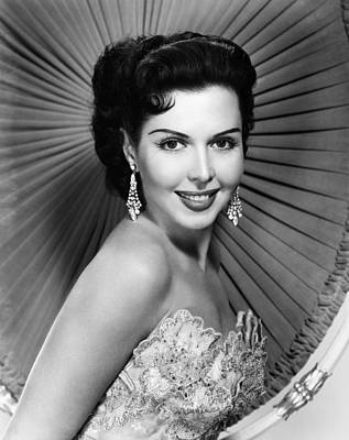 Ann Miller, Ca. Late 1940s Art Print by Everett