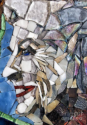 Mitch Brookman Glass Art - Ann Richards by Mitch Brookman