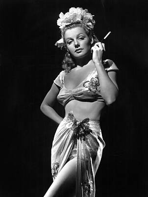 Ann Sheridan, Ca. 1940s, Photo Art Print