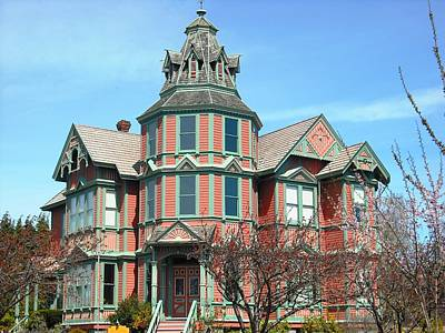 Photograph - Ann Starrett Mansion Port Townsend by Kelly Manning