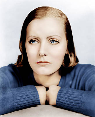 Clarence Sinclair Bull Photograph - Anna Christie, Greta Garbo, Portrait by Everett