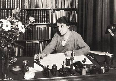 Freud Photograph - Anna Freud 1895-1982, Youngest Daughter by Everett