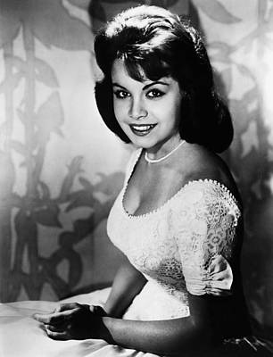 Bouffant Photograph - Annette Funicello, 1961 by Everett