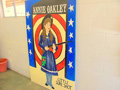 Laundry Mat Photograph - Annie Oakley by Amy Bradley