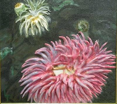 Anninamies Of The Sea Art Print by Lorrie T Dunks