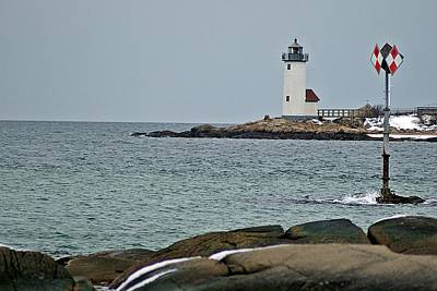 Annisquam Lighthouse Art Print