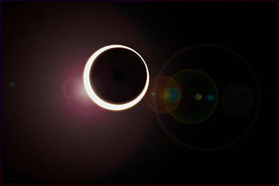 Photograph - Annular Eclipse by Gary Rose