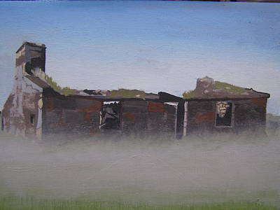 Painting - Another Abandoned Croft by Eric Burgess-Ray