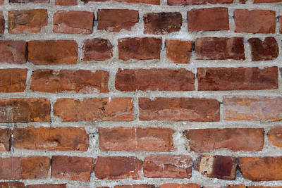Another Brick In The Wall Print by Heidi Smith
