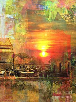 Another Day In Poverty Art Print