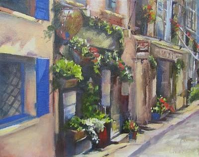 Painting - Monte Martre Paris by Chris Hobel
