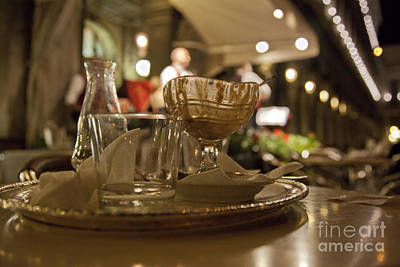 Outdoor Still Life Photograph - Another Gelato Please by Madeline Ellis