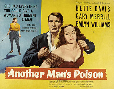 Fid Photograph - Another Mans Poison, Gary Merrill by Everett