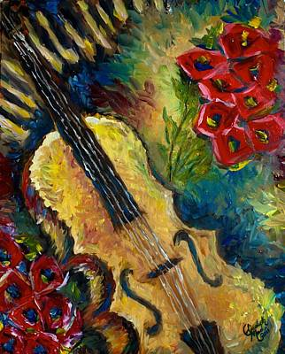 Painting - Another Violin by Elizabeth Marks