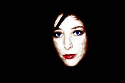 Eye Digital Art - Anouk by Daniel Moussier