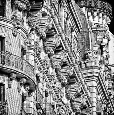 Photograph - Ansonia Building Detail 10 by Val Black Russian Tourchin