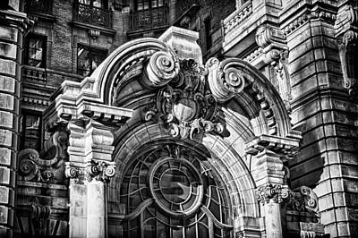 Photograph - Ansonia Building Detail 2 by Val Black Russian Tourchin