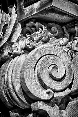 Photograph - Ansonia Building Detail 29 by Val Black Russian Tourchin