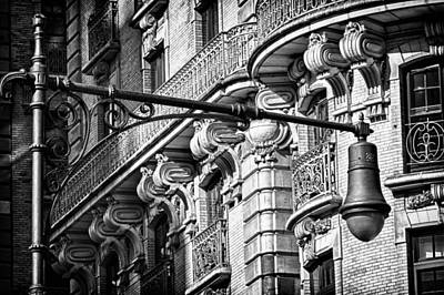 Photograph - Ansonia Building Detail 34 by Val Black Russian Tourchin