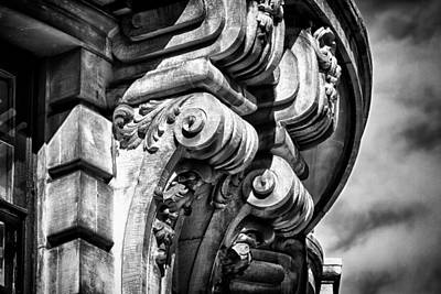 Photograph - Ansonia Building Detail 38 by Val Black Russian Tourchin