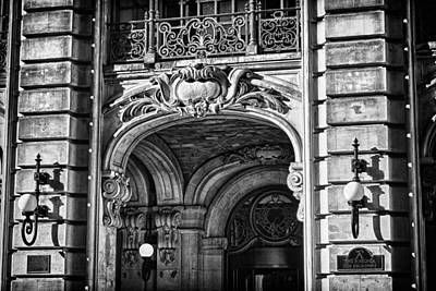 Ansonia Building Detail 4 Art Print by Val Black Russian Tourchin
