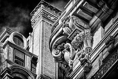 Photograph - Ansonia Building Detail 41 by Val Black Russian Tourchin