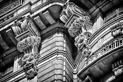 Photograph - Ansonia Building Detail 42 by Val Black Russian Tourchin