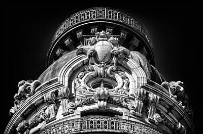 Photograph - Ansonia Building Detail 47 by Val Black Russian Tourchin