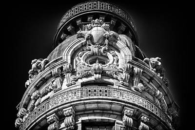 Photograph - Ansonia Building Detail 48 by Val Black Russian Tourchin