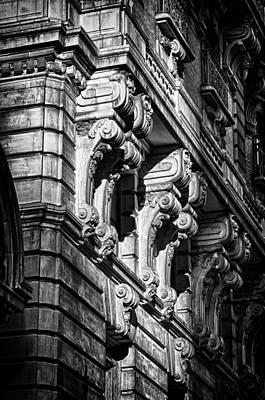 Ansonia Building Detail 9 Art Print by Val Black Russian Tourchin