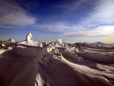 Antarctic Landscape 152 Art Print by David Barringhaus