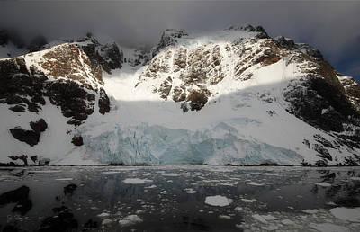Photograph - Antarctic No. 12 by Joe Bonita