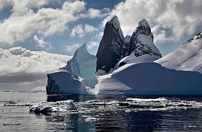 Photograph - Antarctic No. 2 by Joe Bonita