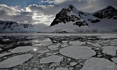 Photograph - Antarctic No. 4 by Joe Bonita