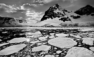 Photograph - Antarctic No. 4a by Joe Bonita