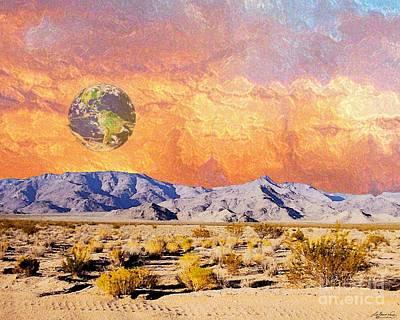 Digital Art - California Dreaming by Lizi Beard-Ward