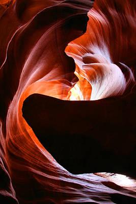 Antelope Canyon Print by Itay Gal