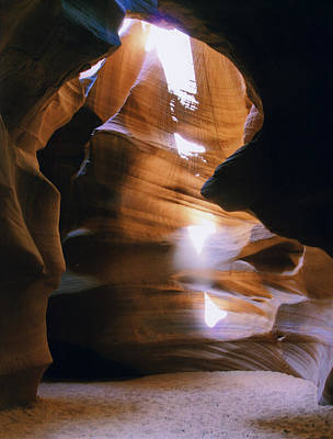 Photograph - Antelope Canyon Two by Joshua House